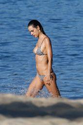 Alessandra Ambrosio in a Bikini - Beach in Rio, June 2015