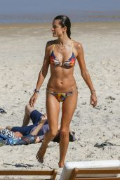 Alessandra Ambrosio in a Bikini in Rio, June 2015