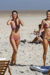 Alessandra Ambrosio in a Bikini in Rio, June 2015