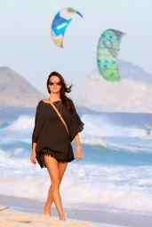 Alessandra Ambrosio on a Beach in Rio de Janeiro, May 2015
