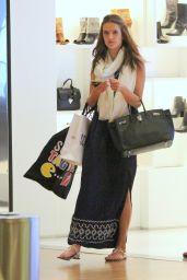 Alessandra Ambrosio - Shopping in Rio de Janeiro, Brazil, June 2015