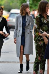 Alexa Chung - Out in SoHo, June 2015
