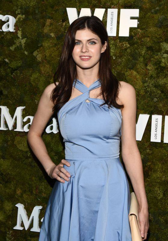 Alexandra Daddario – The Max Mara 2015 Women In Film Face Of The Future Event in West Hollywood