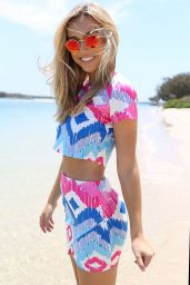 Alexis Ren - Sabo Skirt Collection 2015
