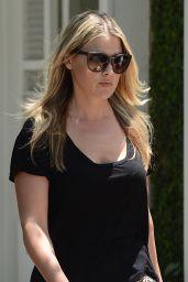 Ali Larter in Mini Skirt - Out in Los Angeles, June 2015
