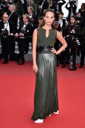 Alicia Vikander - Sicario Premiere at the Cannes Film Festival