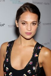 Alicia Vikander - Testament Of Youth Premiere at Chelsea Bow Tie Cinemas in New York