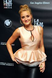 Amanda AJ Michalka - Weepah Way For Now Screening at LA Film Festival