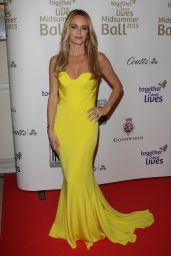Amanda Holden - Together for Short Lives Midsummer Ball in London, June 2015