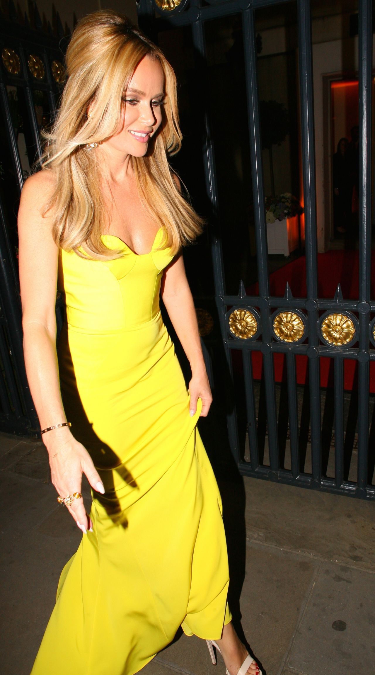 Amanda Holden Together For Short Lives Midsummer Ball In