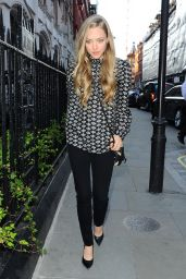 Amanda Seyfried at the Chiltern Firehouse in London, June 2015