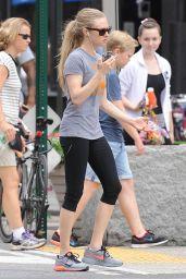 Amanda Seyfried in Leggings - NYC, June 2015