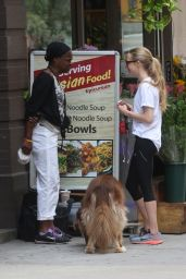 Amanda Seyfried - Out with Finn in NYC, June 2015