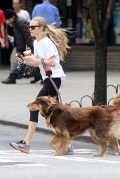 Amanda Seyfried Out With Finn in NYC, June 2015