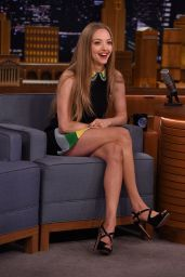 Amanda Seyfried - The Tonight Show With Jimmy Fallon, June 2015