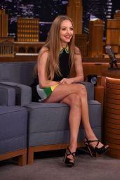 Amanda Seyfried - The Tonight Show With Jimmy Fallon, June 2015