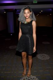 Amandla Stenberg - Women In Film 2015 Crystal + Lucy Awards in Century City