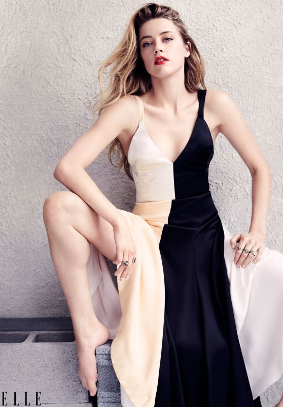 Amber Heard - Elle Magazine July 2015 Issue