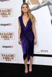 Amber Heard – Magic Mike XXL Premiere in Los Angeles