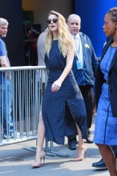 Amber Heard Style -New York City - June 2015