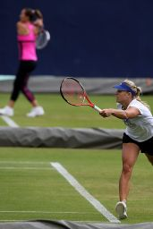 Angelique Kerber Practices- June 2015