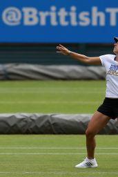 Angelique Kerber Practices- June 2015