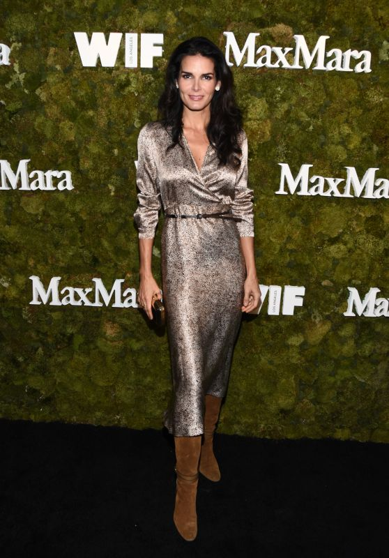 Angie Harmon – The Max Mara 2015 Women In Film Face Of The Future Event in West Hollywood