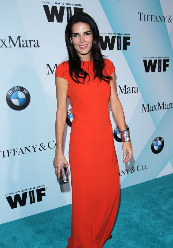 Angie Harmon - Women In Film 2015 Crystal + Lucy Awards in Century City