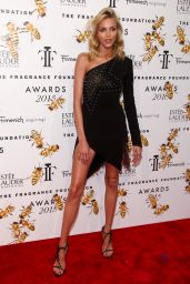 Anja Rubik - 2015 Fragrance Foundation Awards at Alice Tully Hall