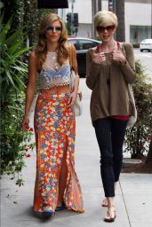 AnnaLynne McCord & Angel McCord - Out in Beverly Hills, June 2015