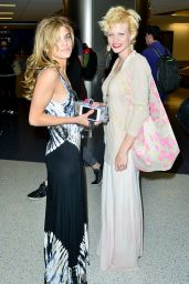 AnnaLynne McCord - Picks Up Her Sister Angel McCord at LAX Airport, June 2015