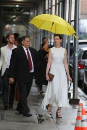 Anne Hathaway - Out in NYC, June 2015