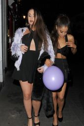 Ariana Grande Night Out Style - London, June 2015