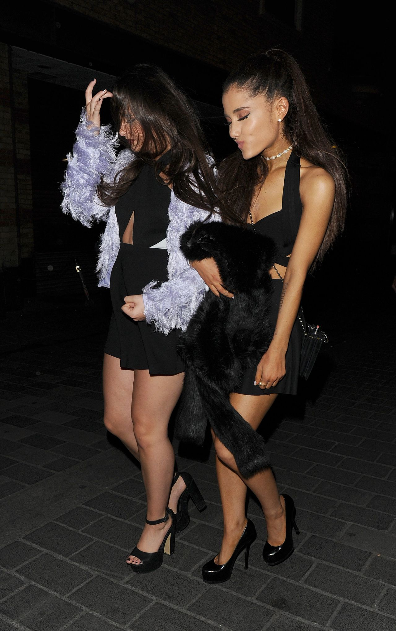 Ariana Grande Night Out Style London June 2015