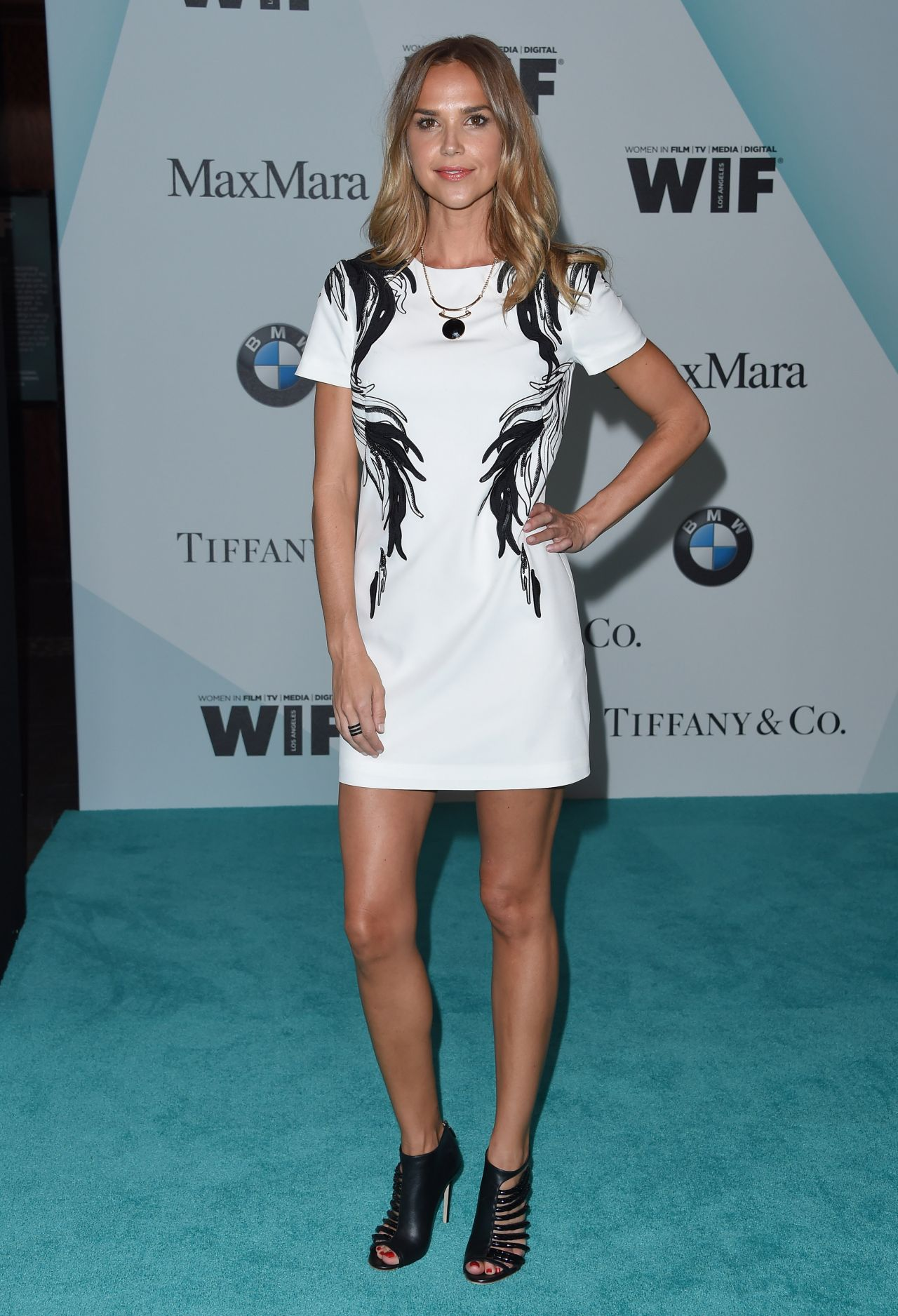 Arielle Kebbel Women In Film 2015 Crystal Lucy Awards In Century City