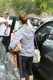 Ashley Greene - Shopping at Bristol Farms in Beverly Hills, June 2015