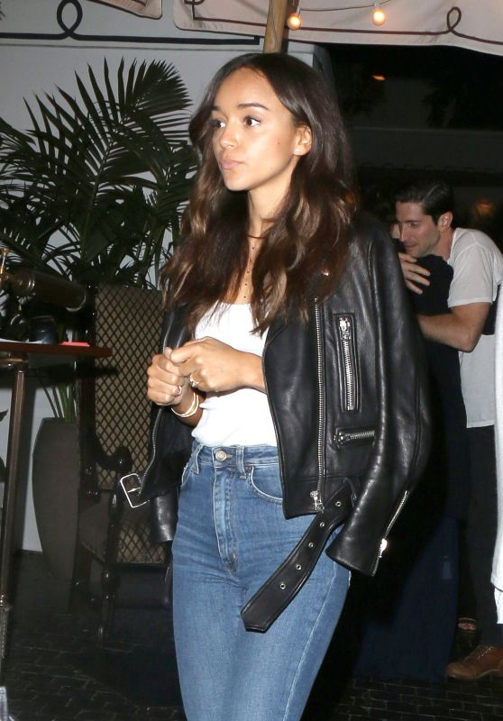 Ashley Madekwe - Leaving Chateau Marmont in West Hollywood, June 2015