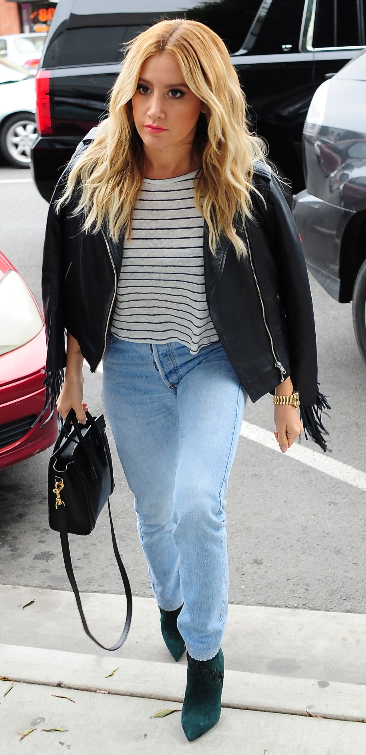 Ashley Tisdale Casual Style - 'Clipped' Event in Beverly ...