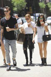 Ashley Tisdale in Soho, New York, June 2015