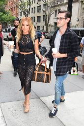 Ashley Tisdale Style - Arrives at