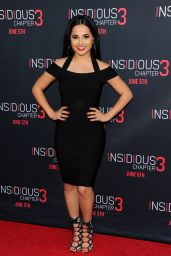 Becky G – Insidious Chapter 3 Premiere in Hollywood