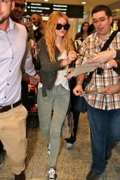Bella Thorne at an Airport in Toronto, June 2015