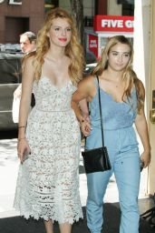 Bella Thorne Summer Style - Going to NBC Studios in New York City, June 2015