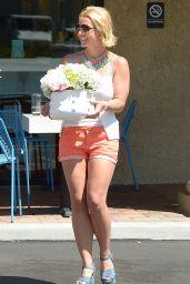 Britney Spears in Shorts - Thousand Oaks, June 2015