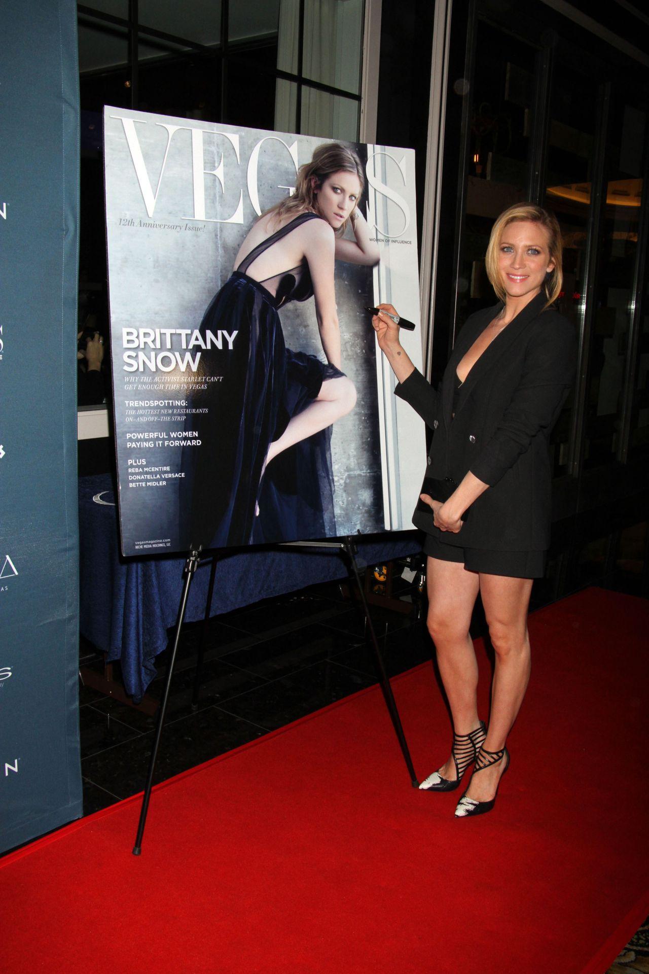 Brittany Snow 2015 Vegas Magazine Celebration In Las Vegas