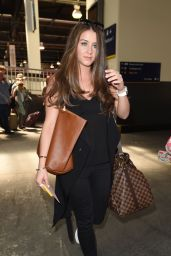 Brooke Vincent at ITV Studios in London, June 2015