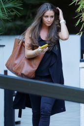 Brooke Vincent at ITV Studios in London, June 2015
