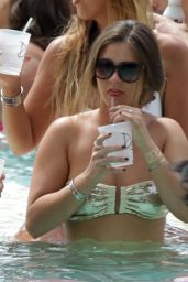 Brooke Vincent Bikini Candids - Drais Pool Party in Las Vegas, June 2015