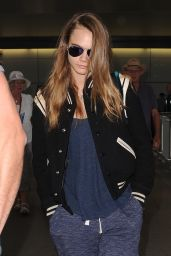 Cara Delevingne Airport Style - at London
