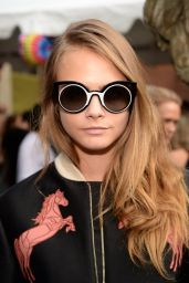 Cara Delevingne at Stella McCartney Spring 2016 Resort Presentation in New York City